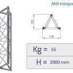 Monte-matériaux, monte-charges Delta MC/PC Bi-colonna