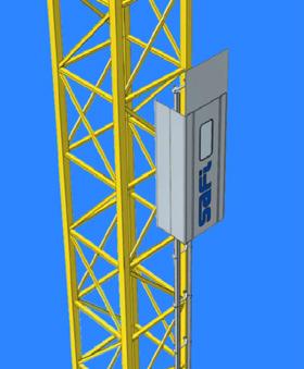 Ascenseur pour grue AS 20 - AS 40