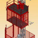 Ascenseur de chantier pour personnes et matériaux Union AS