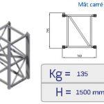 Monte-matériaux monte charges Zenith MC/PC